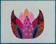 roze lotus 24x30  €99,-