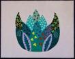 lila lotus 24x30  €99,-